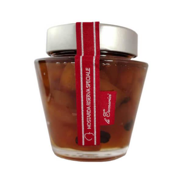 mostarda riserva speciale mela caffe